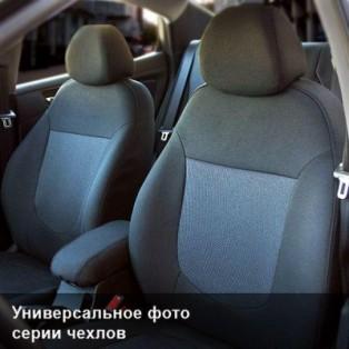 Комплект чехлов в салон авто EMC Elegant Чехлы на сиденья Classic EUR Ford EcoSport 2012-2017, Полный комплект 5 мест