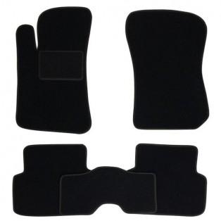 Текстильные коврики в салон Mazda 3 2009-2013, 5шт. (Fortuna, чёрная)