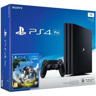 Стационарная игровая приставка Sony PlayStation 4 Slim (PS4 Slim) 1TB + Horizon: Zero Dawn