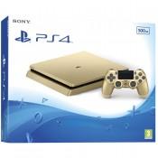 Sony PlayStation 4 Slim (PS4 Slim) 500GB Gold+Ds4