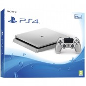 Sony PlayStation 4 Slim (PS4 Slim) 500GB Silver+Ds4