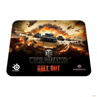 Коврик для мыши SteelSeries QcK World of Tanks Edition Tiger (67272)