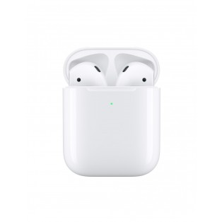 Наушники TWS (полностью беспроводные) Apple AirPods with Wireless Charging Case (MRXJ2)