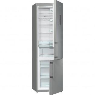 Холодильник с морозильной камерой Gorenje NRK6202MX