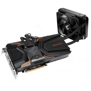 Видеокарта GIGABYTE GeForce GTX 1080 Ti Waterforce Xtreme Edition 11G AORUS (GV-N108TAORUSX W-11GD)