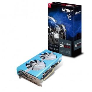 Видеокарта Sapphire Radeon RX 580 8GD5 Special Edition METAL BLUE NITRO+ (11265-21)